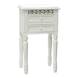 Chelsea 2 Drawer Bedside Table