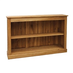 Manhattan Oak Low Bookcase