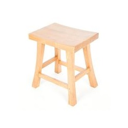 Accent Rubberwood Shogun Stool Light