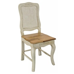 Amberly Rattan Back Dining Chair