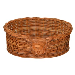 Extra Small Rattan Dog Basket