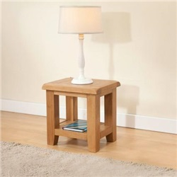 Shrewsbury Oak Lamp Table