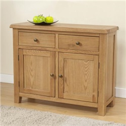 Shrewsbury Oak 2 Door Sideboard