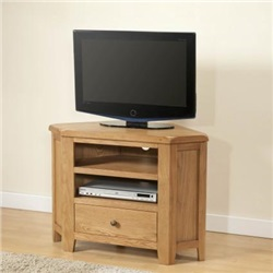 Shrewsbury Oak Corner TV Unit