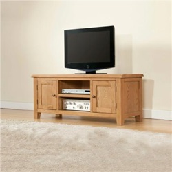 Shrewsbury Oak Large TV Unit