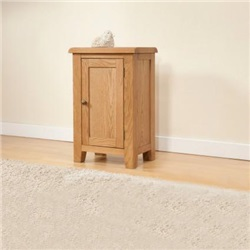 Shrewsbury Oak Small Cabinet with 1 Door