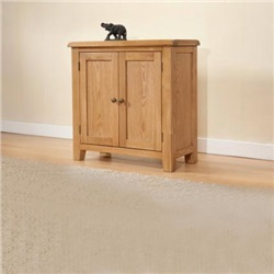 Shrewsbury Oak Small Cabinet with 2 Doors
