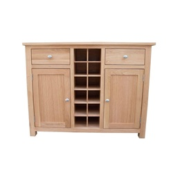 Smart Oak Medium Sideboard