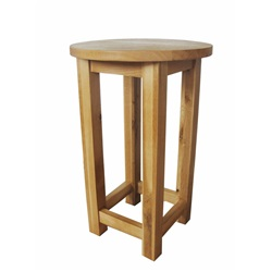 Smart Oak Round Wine Table