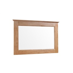 Tuscany Oak Large Mirror