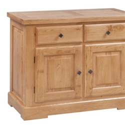 Tuscany Oak 2 Door 2 Drawer Sideboard