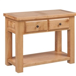 Tuscany Oak Console Table