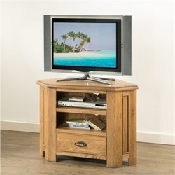 Hartford Oak Corner TV Unit