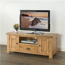 Hartford Oak Large TV Unit