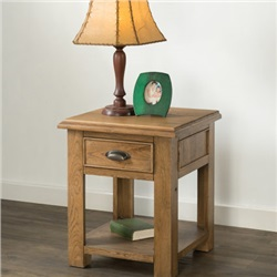 Hartford Oak Lamp Table
