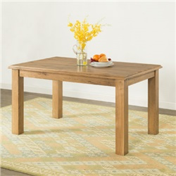 Hartford Oak Fixed Top Table