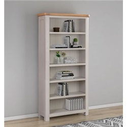 Chatsworth Grey Painted Tall Bookcase