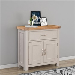 Chatsworth Grey Painted Sideboard with 1 Drawer, 2 Doors