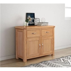 Chatsworth Oak 2 door 2 drawer sideboard