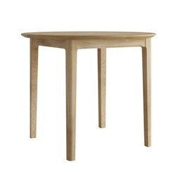Hudson Oak round breakfast table