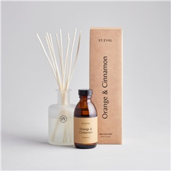 St Eval Orange and Cinnamon reed diffuser