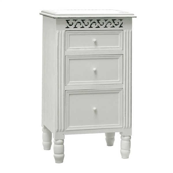 Belgravia 3 Drawer Bedside
