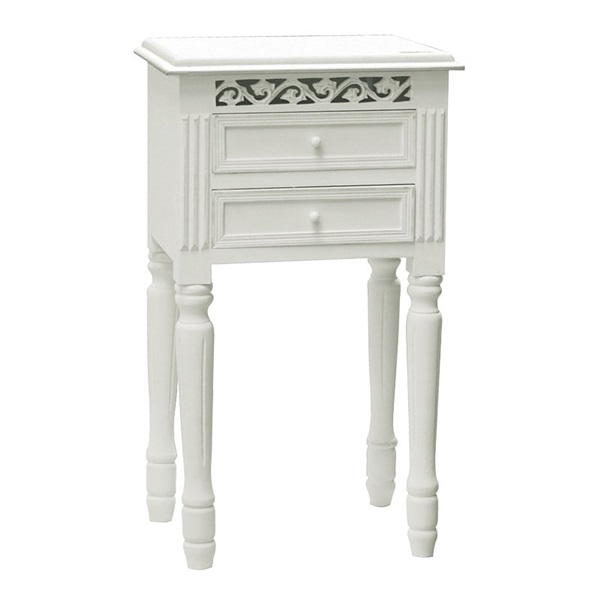 Belgravia 2 Drawer Bedside Table