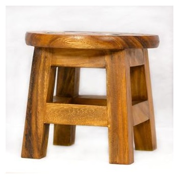Children's Plain Stool Side