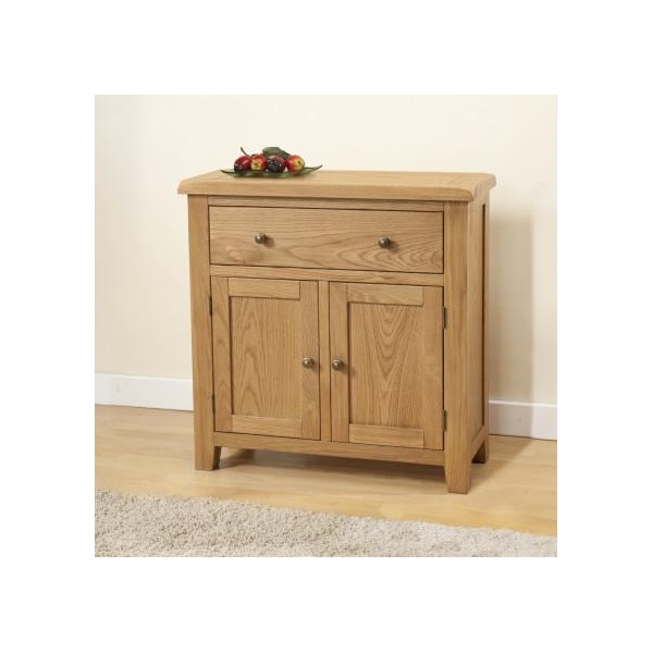 Shrewsbury Oak Compact Sideboard