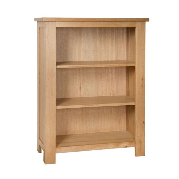 Smart Oak Bookcase with 2 Shelves