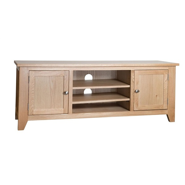 Smart Oak Wide Screen TV Unit