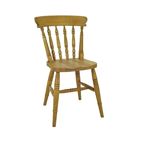Beech Low Back Spindle Chair