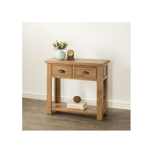 Hartford Oak Console Table