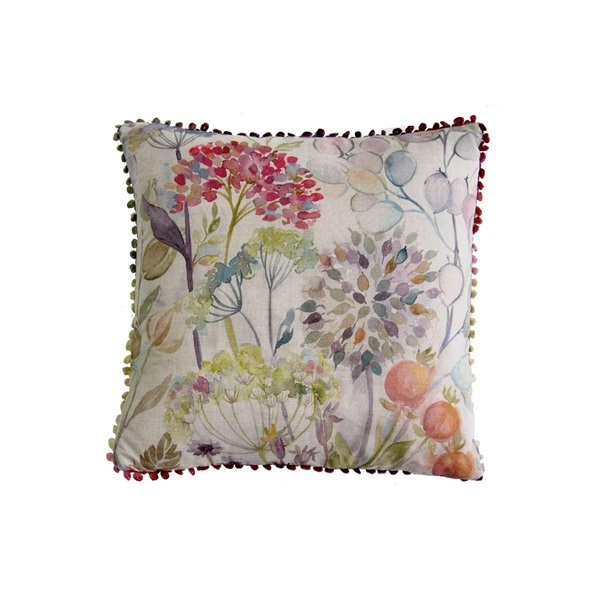 Voyage Hedgerow Square Linien Cushion