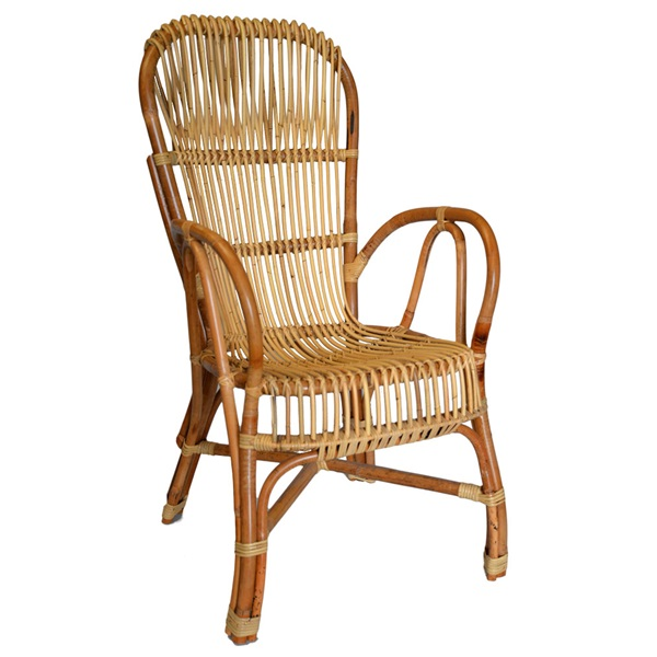 Anatoly Rattan Highback Chair