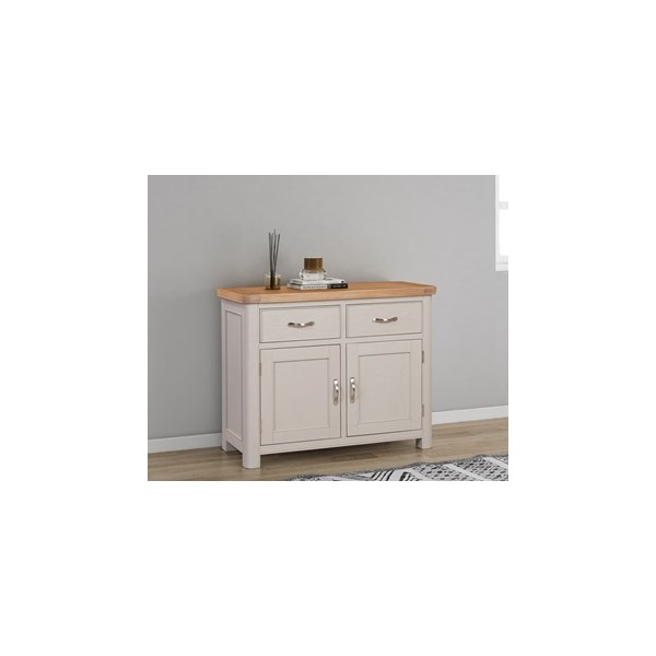 Chatsworth Grey Painted 2 Door, 2 Drawer Sideboard