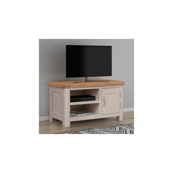 Chatsworth Grey Painted Small TV Unit