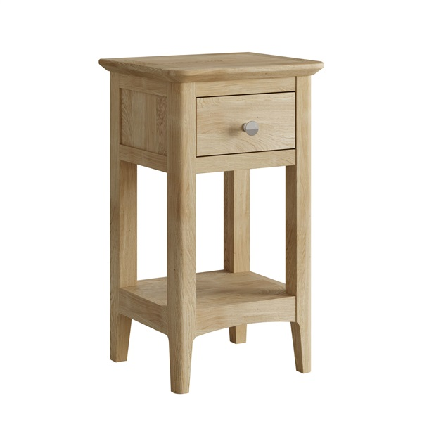 Hudson oak Mini bedside table