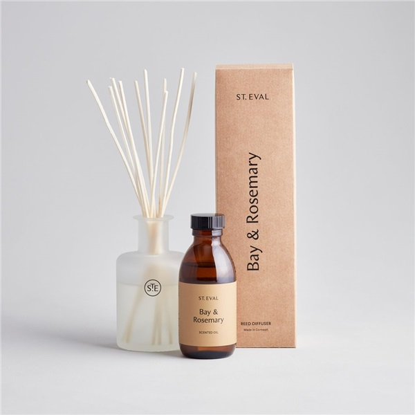 St Eval Bay and Rosemary reed diffuser