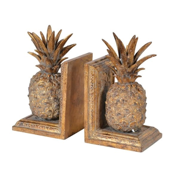 Pineapple Book Ends