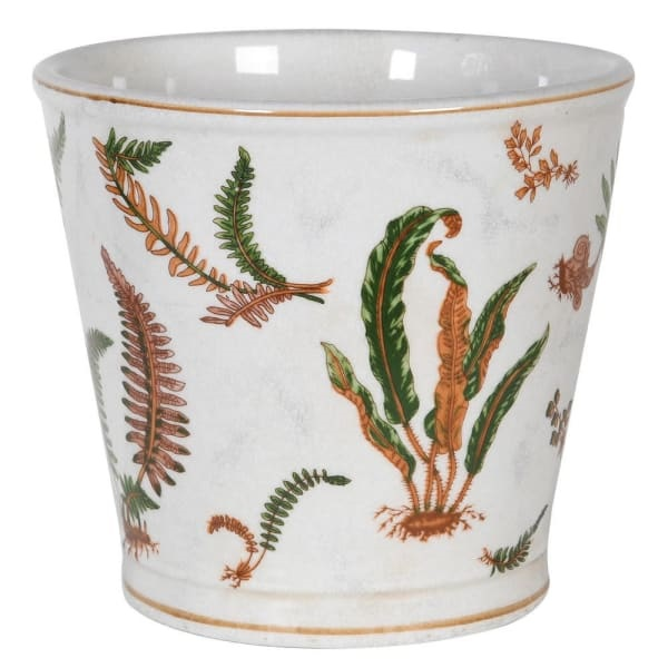 Fern Ceramic Planter